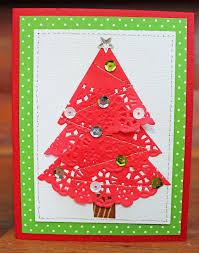 doodlebug design inc blog easy to duplicate christmas doily cards