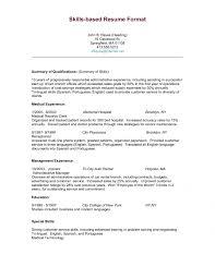 Skill Set Example For Resume by Download Skill Set Resume Haadyaooverbayresort Com