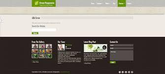Gray Green Green Responsive Html5 Theme By Crunchpress Themeforest
