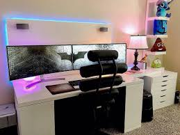 gaming bedroom setup video game room ideas pc ps4 inspired my