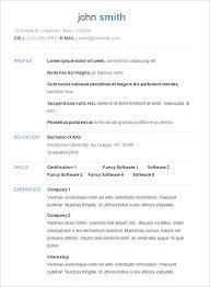 easy basic resume exle easy resume exle exles of resumes