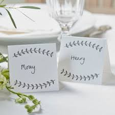 Place Cards Wedding Vintage Boho Wedding And Party Place Cards What U0027s New Bord