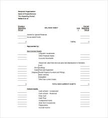 Free Balance Sheet Template Excel Balance Sheet Template 16 Free Word Excel Pdf Documents