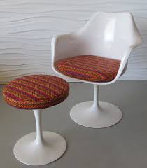saarinen tulip chair u0026 stool modern chair restoration