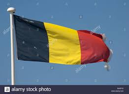 Red Blue Yellow Flag Belgian Tricolour Flag Banner Flying Black Yellow And Red