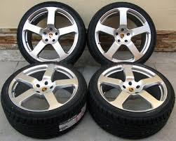 porsche cayenne 22 rims 22 porsche cayenne 5 style silver wheels and tires