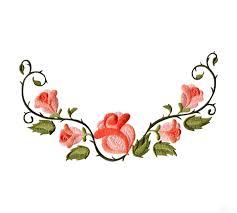 floral border 1 embroidery design