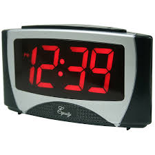 clock oversized wall clock battery powered led clock modern
