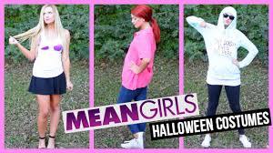 mean girls diy halloween costumes youtube