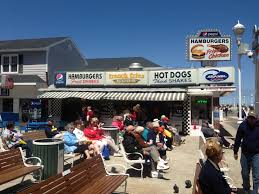 Maryland travel photo album images Ocean city boardwalk breakfast burgers shakes ice cream deli jpg