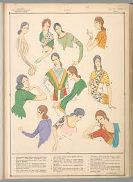 illustrations indian women u0027s fashion from the early 20th century
