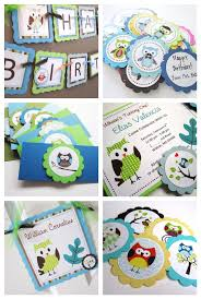 owl birthday party owl birthday banner for kids party adore by nat