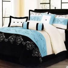 Black And Teal Comforter Smallironingboard Com Page 5 Luxury Brown Reddish Microfiber