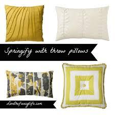 springify day 2 throw pillows