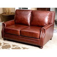 Abbyson Living Leather Sofa Abbyson Living Bel Air 3 Piece Leather Sofa Set In Brown Sk 8040