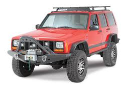 smittybilt 76812 xrc stinger for 84 01 jeep cherokee xj with