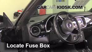 Seeking Fuse Interior Fuse Box Location 2012 2017 Volkswagen Beetle 2013