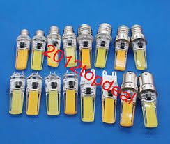 Replace Chandelier G4 G9 E14 E17 Led Bulb Lamp 7w Cob Light Dimmable Replace