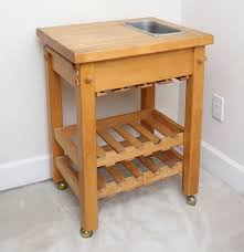 kitchen island table on wheels le gourmand kitchen island on wheels ebth