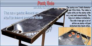 How Long Is A Shuffleboard Table by Puck Hole