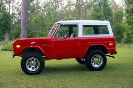 classic ford bronco would love to cruise around in this