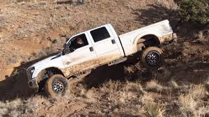 mud truck diesel brothers watch an idiot do everything wrong off road almost destroy ford