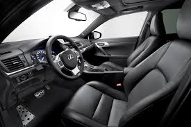 lexus sport car interior ct 200h f sport lexus uk media site
