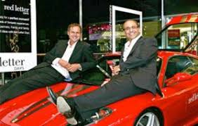 dragons den businessmen peter jones and theo paphitis sell red