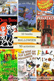 50 book inspired halloween activities for kids sugar spice and