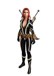 Halloween Costume Black Widow Black Widow Fear Costume Costume Marvel Heroes Omega