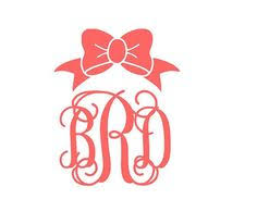 iron on monogram initials vinyl monogram decal iron on name and initial you size and