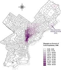 Philadelphia Pennsylvania Map by Map Of Hispanic Segregation In Philadelphia Maps Constructed