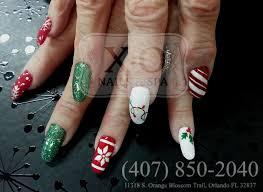 happy holidays christmas nail design snow flake christmas