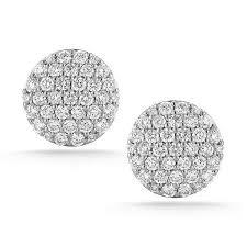 large stud earrings large stud earrings d jewelers
