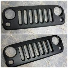 jeep grill icon excellent protection for a jeep jk grille rhino linings of york