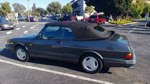 1989 saab 900 spg convertible 50k miles redbox gauges eq