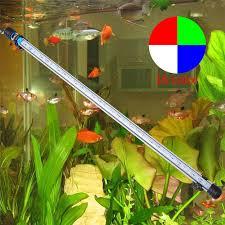 30 led aquarium light 57cm 6 5w 30led fish tank aquarium led light 5050 smd rgb light bar