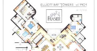 sex and the city floor plan floor plans from tv series the big bang theory friends sex and
