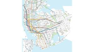 Citibike Map Nyc Subways Buses Brought Together On One Map Am New York