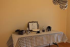 Cake Table Decorations by Simple Black And White Cake Table U2013 Simple Bliss