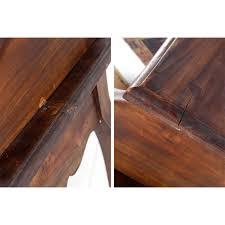 wooden bureau napoleon mahogany brown 31 desk ebay