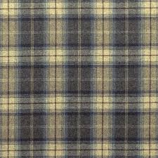 woodford plaid fabric indigo dhigwp304 sanderson highland