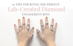 lab created engagement ring 10 tips for buying the lab created engagement ring