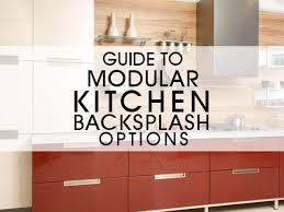 kitchen backsplash options guide to modular kitchen backsplash options luxus india