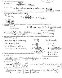 chemistry dimensional analysis worksheet worksheets