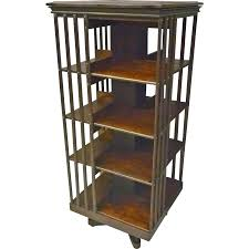 Antique Revolving Bookcase Tall Rotating Bookcase Doherty House Design Of Rotating Bookcase