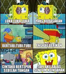 Meme Komik Spongebob - versi spongebob wow nya ya gan