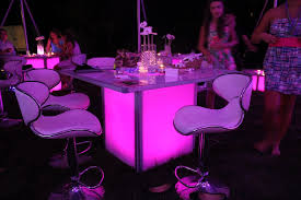 party light rentals light up furniture rentals in ct ma ri ny greenwich ct
