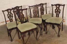 chinese chippendale chairs sold antique chinese chippendale dining side chairs set of 6