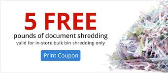 where to shred papers for free free document shredding at office depot office max ends 4 28